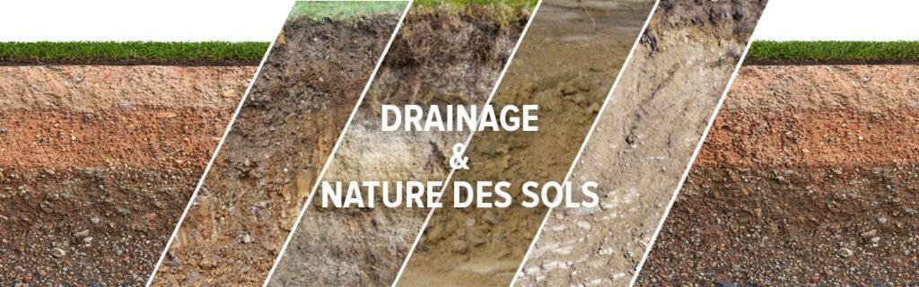 étude des sols et drainage