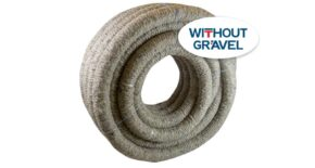 FIBERDRAIN Land DRAINAGE coated with PP fiber without gravel