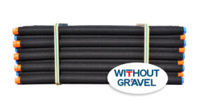 Batifibre The drainage of foundations WITHOUT gravel