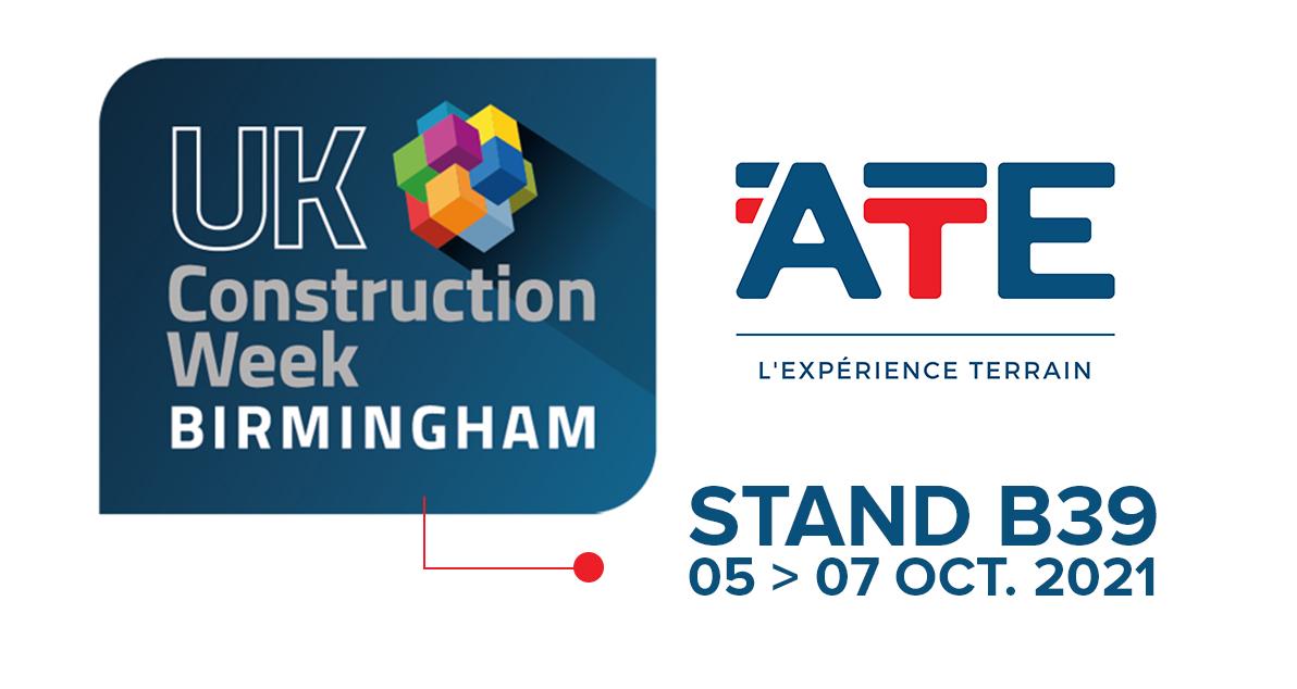 ATE à UK construction week